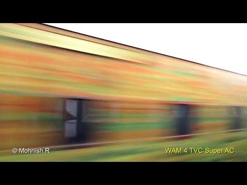 Brindavan Express - HIGH Speed Crossings and Station Skips.