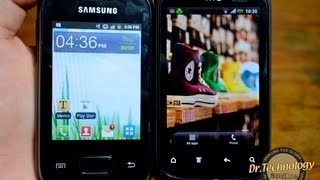 HTC Explorer vs. Samsung Galaxy Pocket