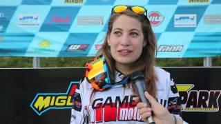 Campionato Italiano Quadcross 2016: Savignano intervista a Carla Gamboni