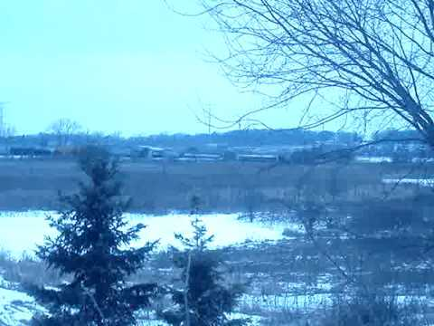 Feb. 8,2010 Train derailment Pleasent Praire,WI part1
