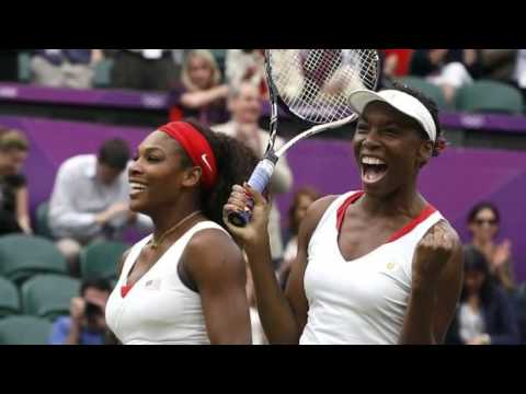 Venus, Serena Williams Wins Gold in Women's Doubles Tennis in London Olympics 2012