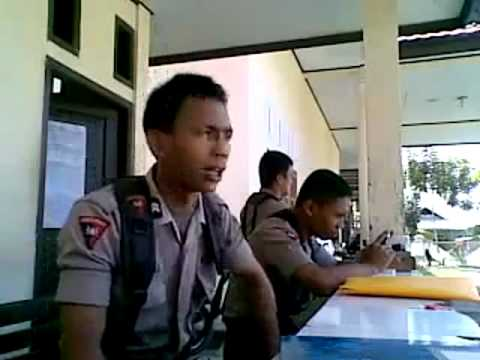 Indonesian Police singing Hindi Song, LOL.wmv Music Videos