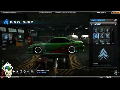 Need For Speed World : Making of - Draykes Nissan 200sx s14 Vinyled [HD] (PC)...