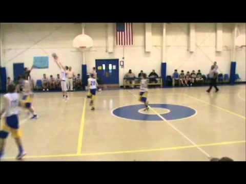 Grey Ferguson Carlisle School Basketball #2 - 02/11/2012