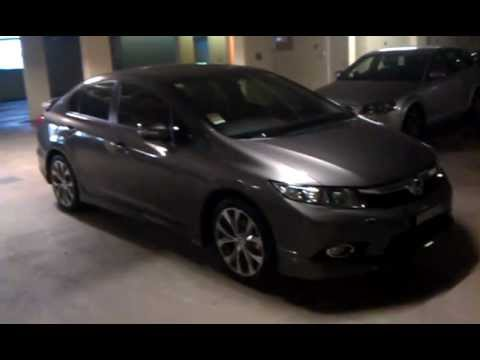 Honda Civic Sport 2012 Modulo Body Kit Car Review Youtube
