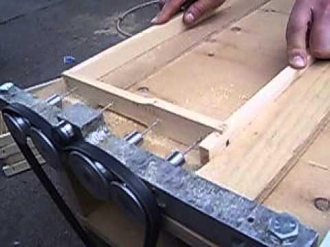 Сверлильный станок для пчелиных рамок своими руками