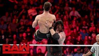 Finn Bálor vs. Kane: Raw, Oct. 23, 2017