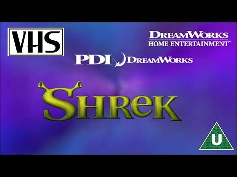 Opening to Shrek UK VHS (2001) thumbnail