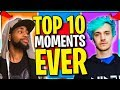 10 MOST Memorable MOMENTS & OUTPLAYS in History