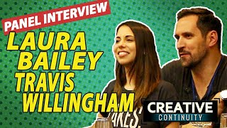 Fullmetal Alchemist: Brotherhood voice actors anime: Laura Bailey & Travis Willingham panel
