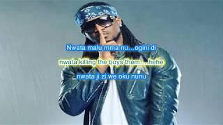 Rudeboy (P Square) - Nkenji Keke Lyrics (Official Lyrics Video)
