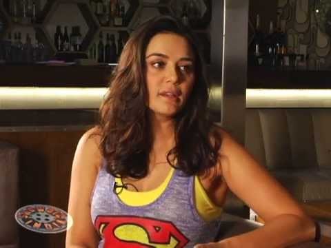 Preity Zinta on Showbiz India