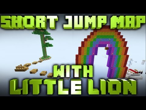 Minecraft: Short Jump Map w/ GAgamecast & LittleLion