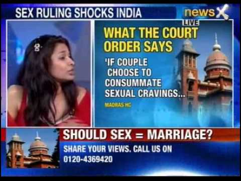 NewsX: Should pre marital sex be equated with marriage?