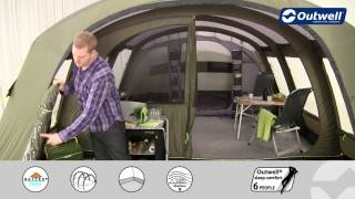 Outwell Corvette XL Tent | Innovative Family Camping