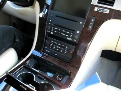 How To Remove Radio    Navigation    Cd Changer From 2007 Cadillac Escalade For Repair