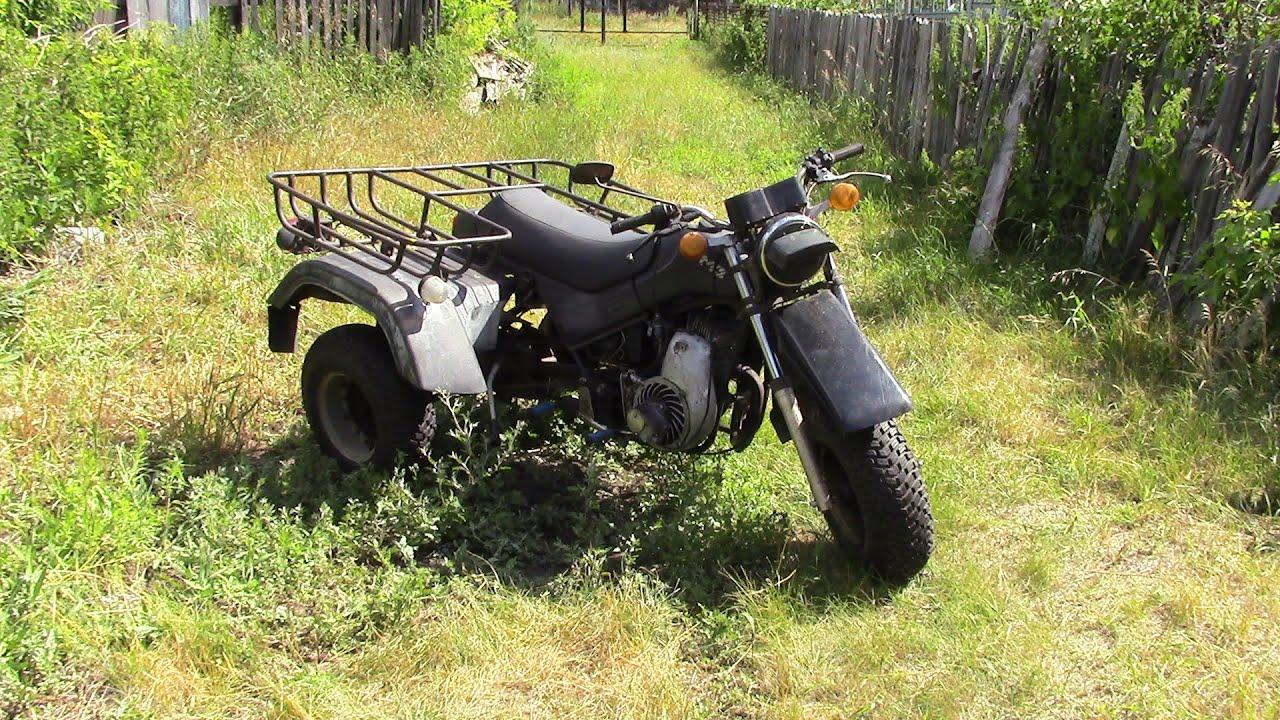 Как сделать трицикл из мотоцикла тула 122