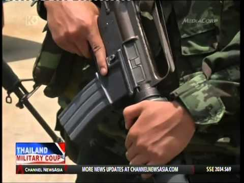Channel News Asia : 23 May 2014 - Primetime World : Thailand Military Coup