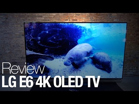 LG E6 OLED Television Review