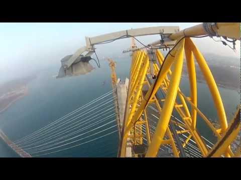 Мост на Остров Русский / The bridge on the Island Russkiy