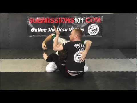 The Ninja Choke Off a Guillotine Attack Image 1