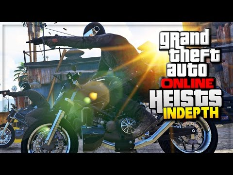 GTA 5 Online Heist DLC Official GTA Online Gameplay Images Breakdown! (GTA 5 Heist Online Update)