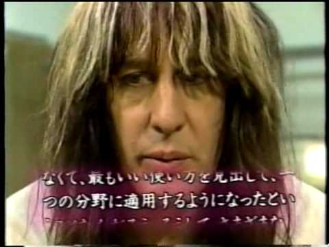 Todd Rundgren - Woo Music Satellite Japan Interview 5-92