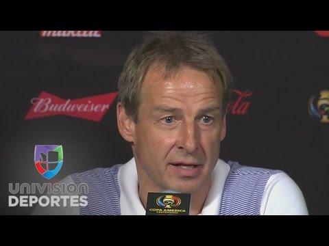 Jürgen Klinsmann: ''Debemos estar orgullosos por quedar entre los mejores cuatro''