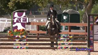 184S Molly Taggard on Master Game JR Training Show Jumping  Galway Downs Nov. 2018