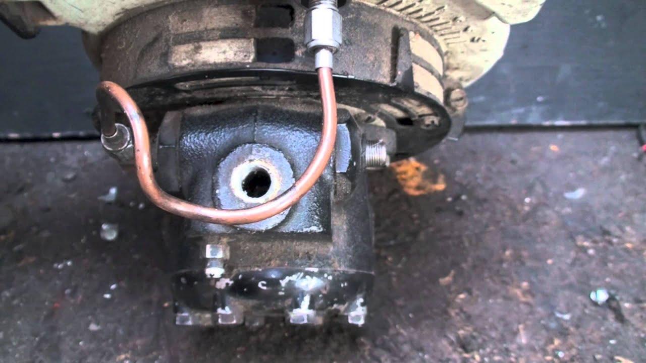 Oil Furnace Pump Bypass Plug Youtube