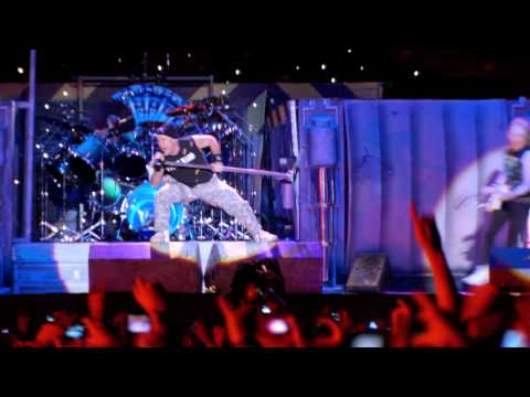 Iron Maiden - Intro (Satellite 15) + The Final Frontier (En Vivo!) [HD]