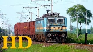West Central Railways New Katni NKJ WAG7 with BOXN RAKE TO BHOPAL SIDE
