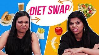 Health Freak & Junk Food Lover Swap Diets | BuzzFeed India