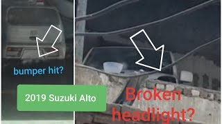 *Suzuki fraud*Accident repaired 0 meter Suzuki alto 660cc caught live on camera