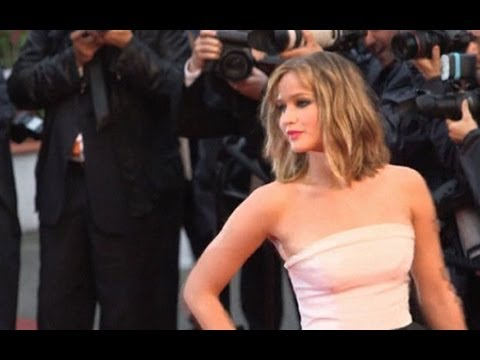 Jennifer Lawrence attends Hunger Games party in Cannes