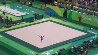 Simone Biles Final Floor Rio2016 Gold Medal