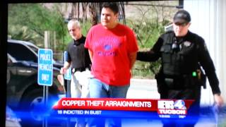 Asarco Copper Theft