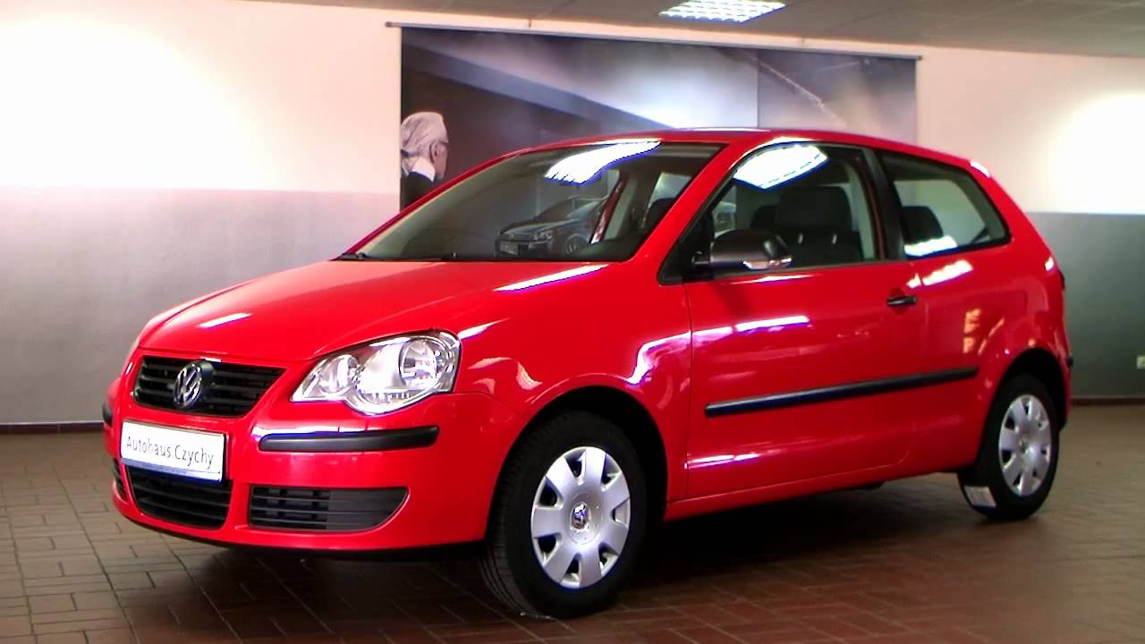 volkswagen polo 1 4 trendline 2005 flashrot 6d049033 youtube. Black Bedroom Furniture Sets. Home Design Ideas