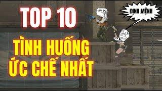 TOP 10 TÌNH HUỐNG HÀI HƯỚC VÀ ỨC CHẾ NHẤT ĐỘT KÍCH !!!