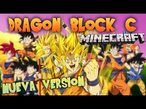 DRAGON BLOCK C MOD [REVIEW NUEVA VERSION] - MINECRAFT DRAGON BALL Z - Raypiew