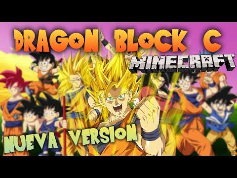 DRAGON BLOCK C MOD [REVIEW NUEVA VERSION] - MINECRAFT DRAGON BALL Z - Raypiew