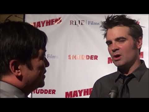 Beyond Fest 2017: Joe Lynch Red Carpet Interview At Mayhem Premiere