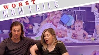 worst mom fails reactions | the east family