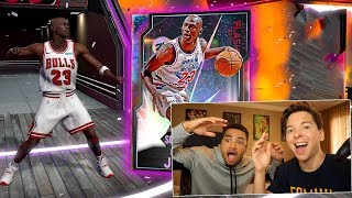 I PULLED GALAXY OPAL MICHAEL JORDAN! NBA ALL STAR PACK OPENING 2K20