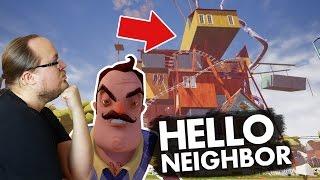 VAD FINNS PÅ TAKET? | Hello Neighbor (Alpha 4)