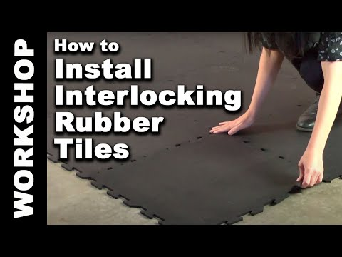 Floor tile installation video