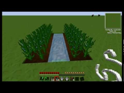 How to plant flax seeds in Tekkit