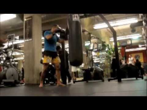 Fit at 48 in a  6 MINUTES CONTINUOUS CRAZY THAI KICKBOXING DRILLS Image 1