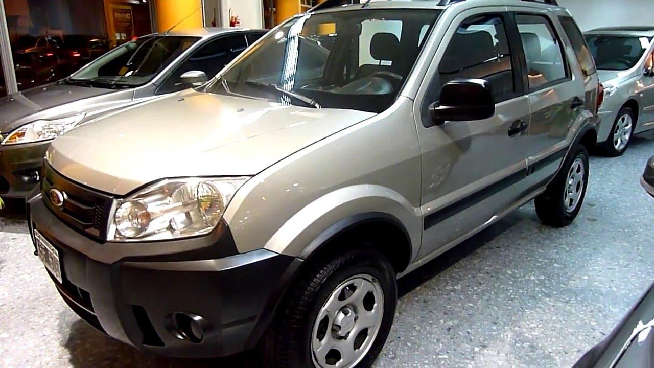 Ford Ecosport Xls 1 6l Nafta Mp3 2011