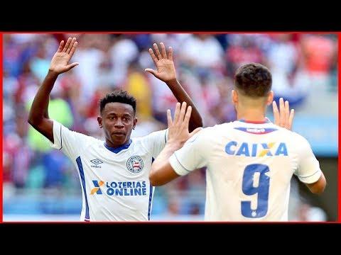 Bahia 1 X 1 Palmeiras. Gols de Gilberto e Felipe Melo (16/9/2018)